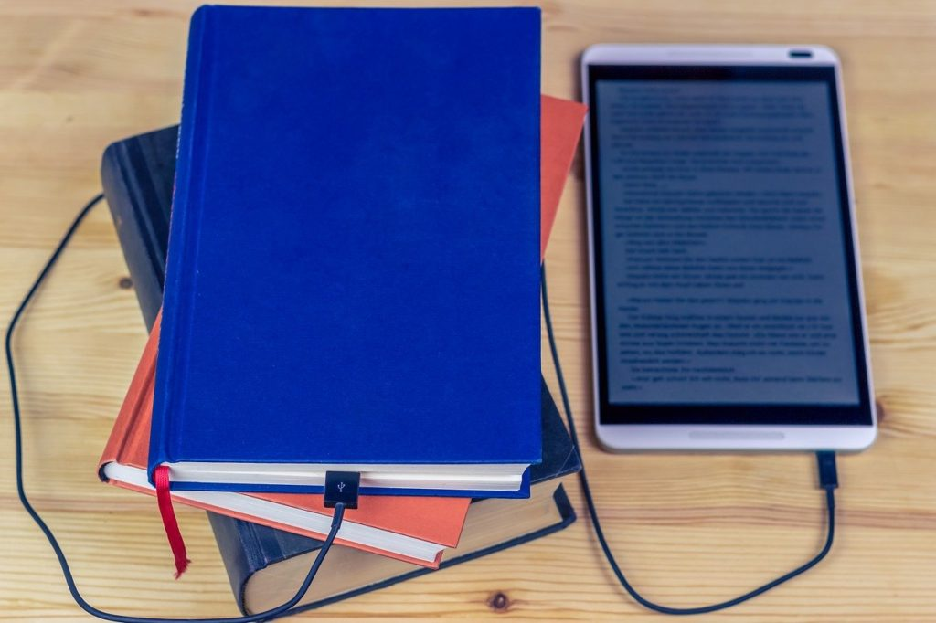 ebook, tablet, touch screen